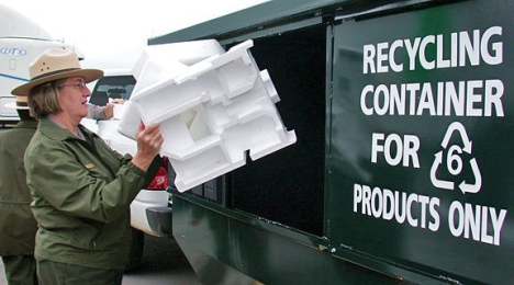 Polystyrene.recycling