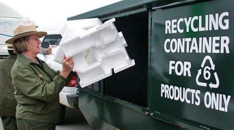 Polystyrene.recycling