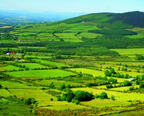 Ireland - green hills