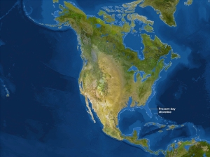 Projected sea level rise due to climate change