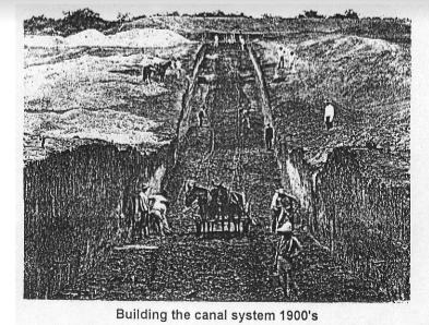 The Rio Grande Valley canal system being built in South Texas